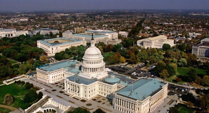 ** FILE ** Washington, D.C. skyline (Associated Press)