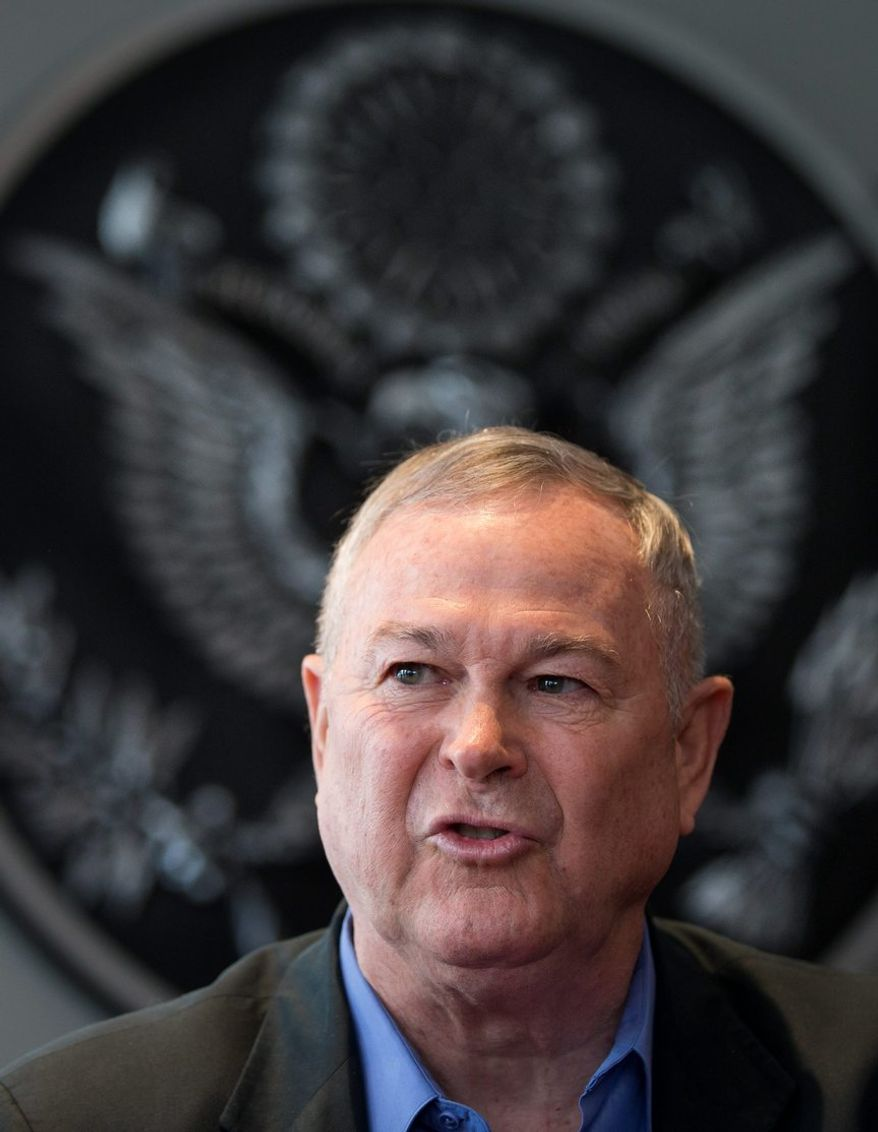 """Rep. Dana Rohrabacher, California Republican, said that Edward Snowden has been loyal to his country by """"letting the American people know that their government was getting out of hand."""" (Associated Press)"""