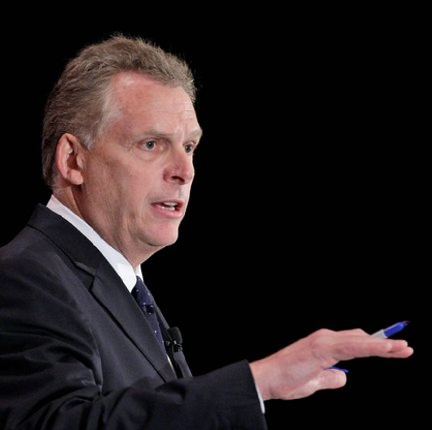 Terry McAuliffe (Associated Press)