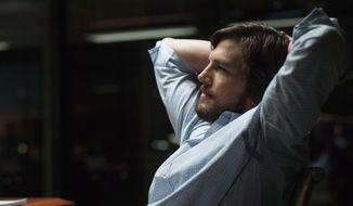 """Ashton Kutcher as Steve Jobs in a scene from """"Jobs."""" (AP Photo/Open Road Films, Glen Wilson)"""