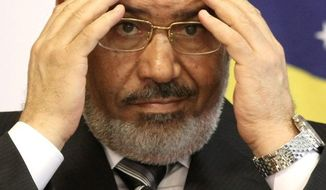 Mohamed Morsi Associated Press photograph