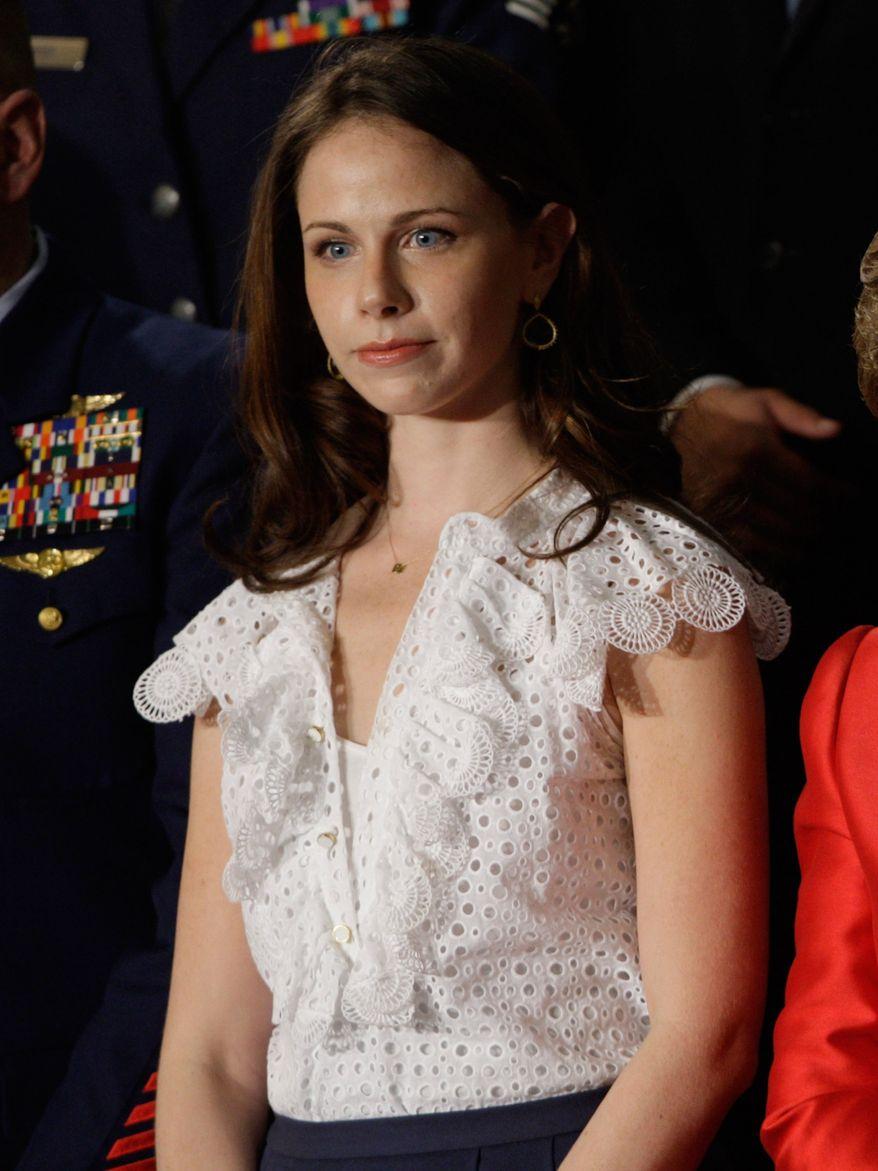 **FILE** Barbara Bush, daughter of former President George W. Bush (Associated Press)
