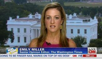 Emily Miller on CNN. August 19, 2013.