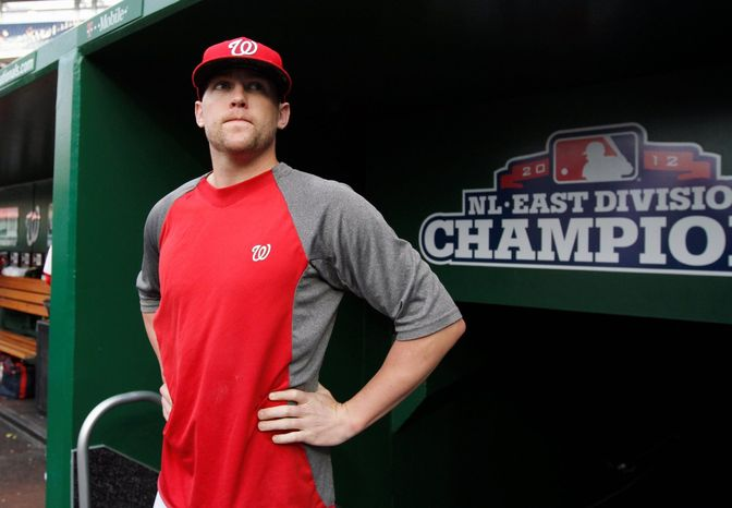 """Nationals reliever Drew Storen has excelled since being called up last week following a three-week minor league stint, throwing three scoreless innings with five strikeouts. The former closer had a 5.95 ERA when he was sent down. """"I really like what I'm seeing,"""" manager Davey Johnson said. (Associated press)"""