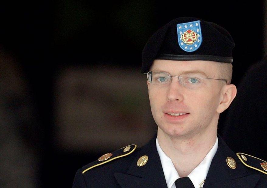 Pvt. Bradley Manning