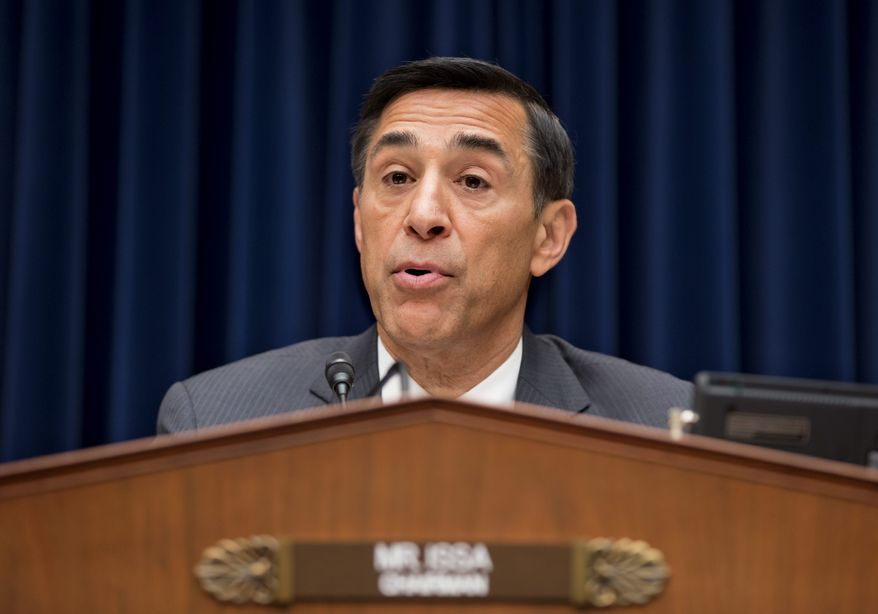 Rep. Darrell E. Issa, California Republican (Associated Press)