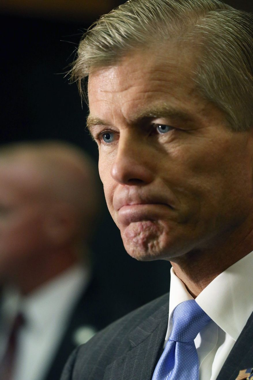 In a Quinnipiac University poll released Thursday, 35 percent of those surveyed viewed Gov. Bob McDonnell unfavorably. (associated press)