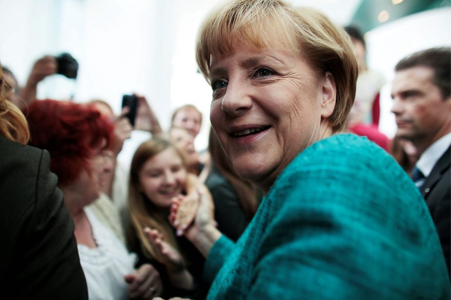 German Chancellor Angela Merkel has been put on the defensive at times with her government's links to the National Security Agency eavesdropping scandal in the United States. (Associated Press)