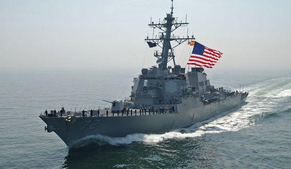U.S.S. Mahan (credit: U.S. Navy)