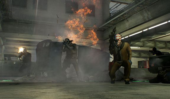 Escaping after a heist can be difficult in the video game Payday 2.