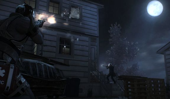 Attack a house containing a meth lab in the video game Payday 2.