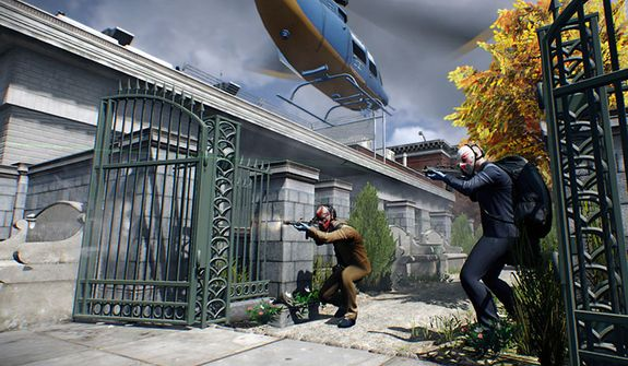 Shootouts occur in a variety of locations in the video game Payday 2.