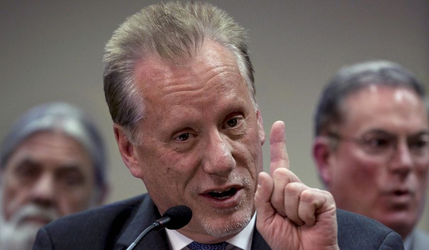 Actor James Woods (Associated Press) ** FILE **