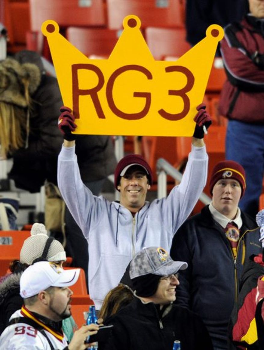 Despite all the offseason drama, Robert Griffin III will once again be king of D.C. when he steps onto the fIeld and starts making plays. (associated press)