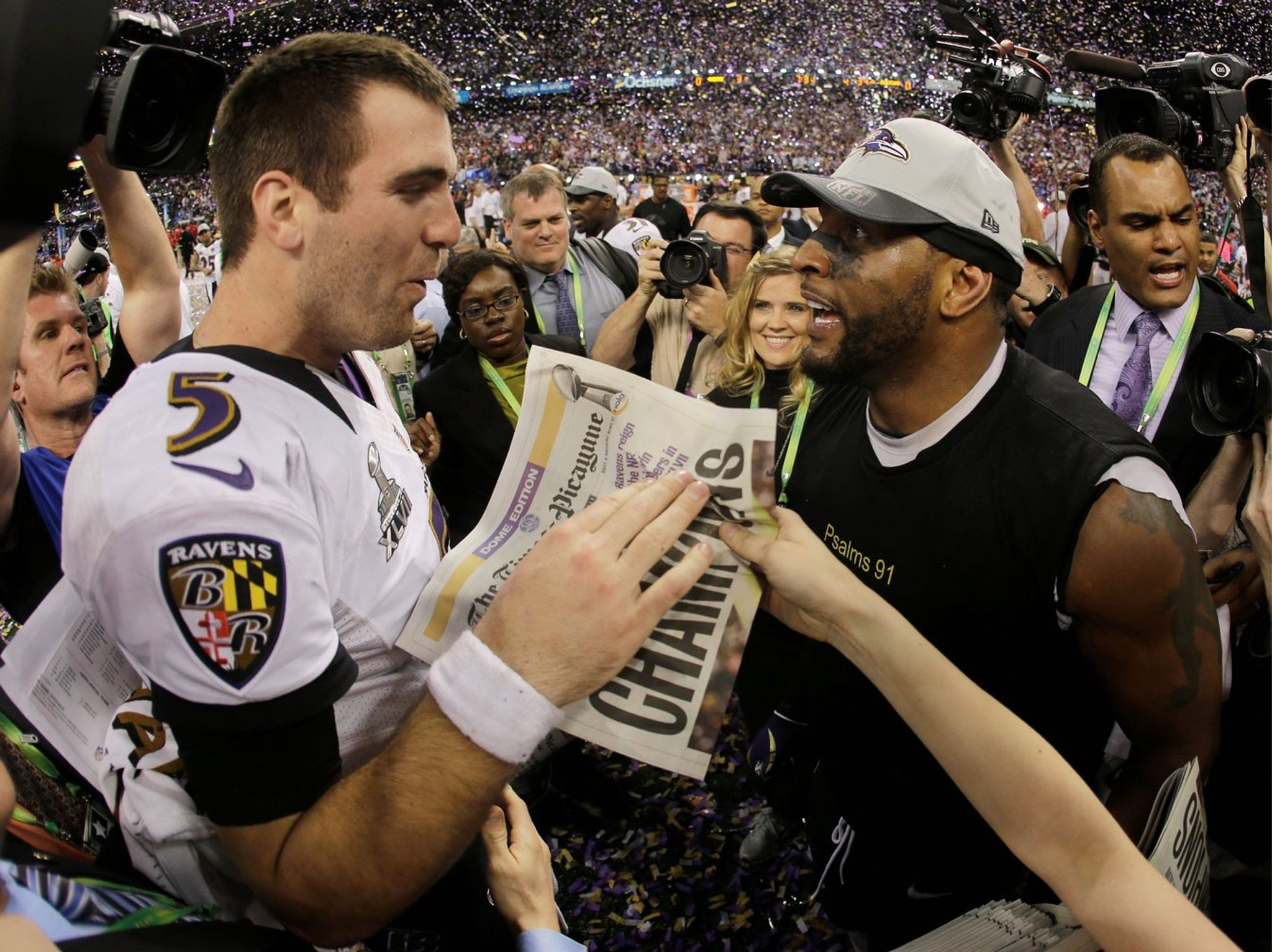 RAVENS 2013  Defending Super Bowl champs not troubled by roster turnover ef49c58e63
