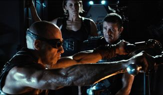 """Vin Diesel in a scene from """"Riddick."""" (AP Photo/Universal Pictures)"""