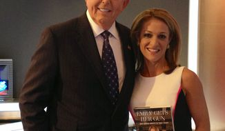 Lou Dobbs of Fox Business Network with Emily Miller. September 5, 2013