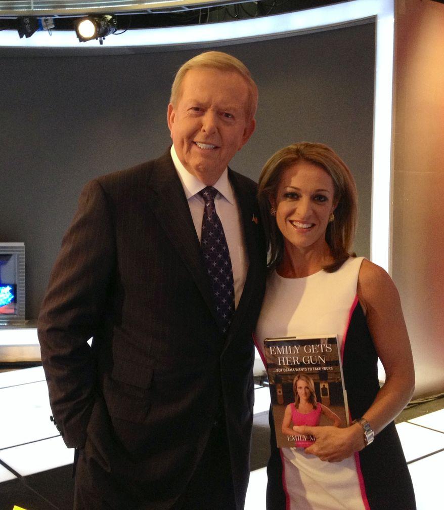 Lou Dobbs of Fox Business Network with Emily Miller. September 5, 2013
