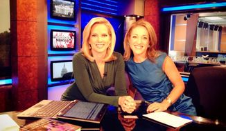 Shannon Bream of Fox News and Emily Miller on Sept. 8, 2013.