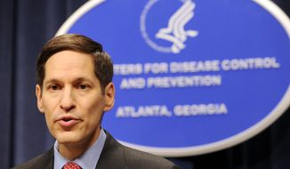 """A blind spot [on public health] anywhere in the world is a risk to us,"" says Dr. Tom Frieden, director of the Centers for Disease Control and Prevention. (ASSOCIATED PRESS)"