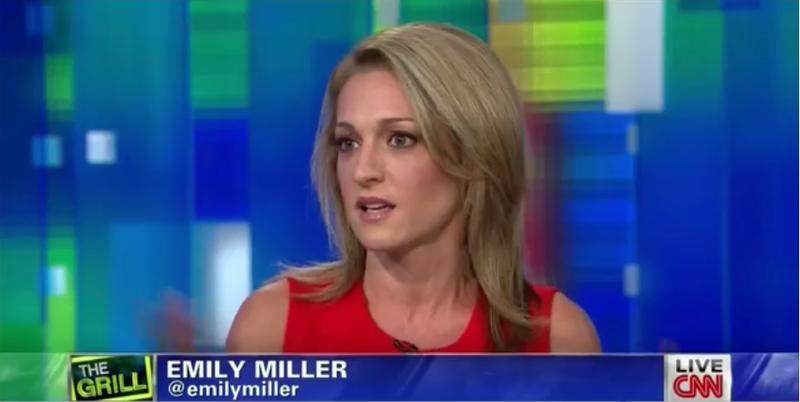 CNN's Piers Morgan with Emily Miller. September 9, 2013.