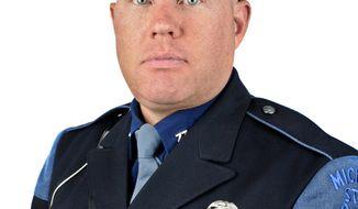 Michigan State Police Trooper Paul Butterfield (AP Photo/Michigan State Police)