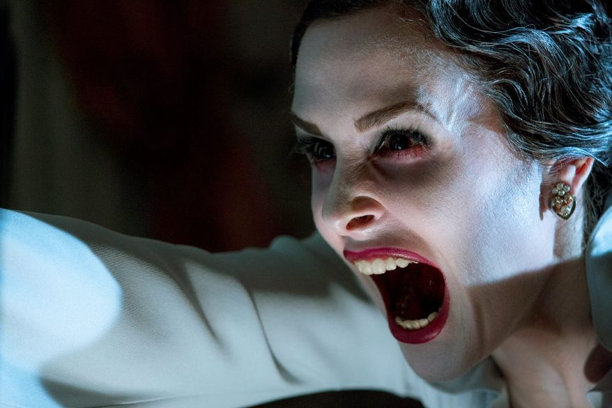 """There's a lot of screeching, thumping and assorted other loud noises in """"Insidious: Chapter 2."""" Danielle Bisutti is among the cast. (FilmDistrict via Associated Press)"""