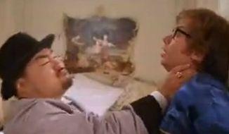 Joe Son played Random Task in 'Austin Powers: International Man of Mystery' in 1997. (Image: New Line)