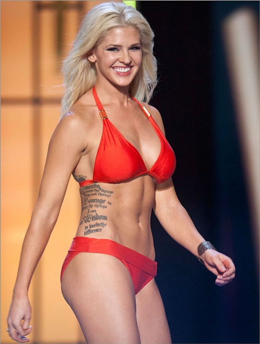 Miss Kansas Theresa Vail says she wants to break the ...