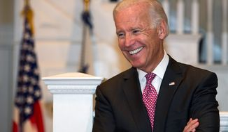 Vice President Joseph R. Biden is likely to run for the White House in 2016 if Hillary Rodham Clinton decides against a bid, those close to him say. (Associated Press)