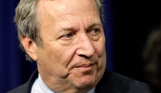 Off the List: Lawrence H. Summers, a leading candidate for Federal Reserve chairman, would have faced a bruising battle. (Associated Press)