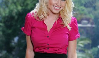 **FILE** Britney Haynes, a hotel sales manager from Huntington, Ariz., is shown in Los Angeles. (Associated Press/CBS)