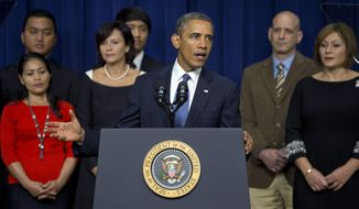 President Barack Obama speaks about the shooting at the Washington Navy Yard in the South Court Auditorium on the White House complex, Monday, Sept. 16, 2013, in Washington. (AP Photo/Carolyn Kaster)