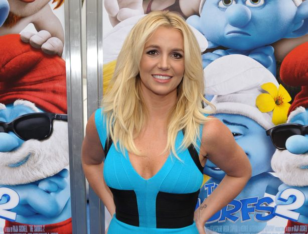 "** FILE ** In this July 28, 2013, file photo, singer Britney Spears arrives to the world premiere of ""The Smurfs 2"" in Los Angeles. Spears announced a 16-date residency at Planet Hollywood Resort & Casino on ABC's ""Good Morning America"" on Tuesday, Sept 17. ""Britney: Piece of Me"" will debut Dec. 27. (Photo by John Shearer/Invision/AP, File)"