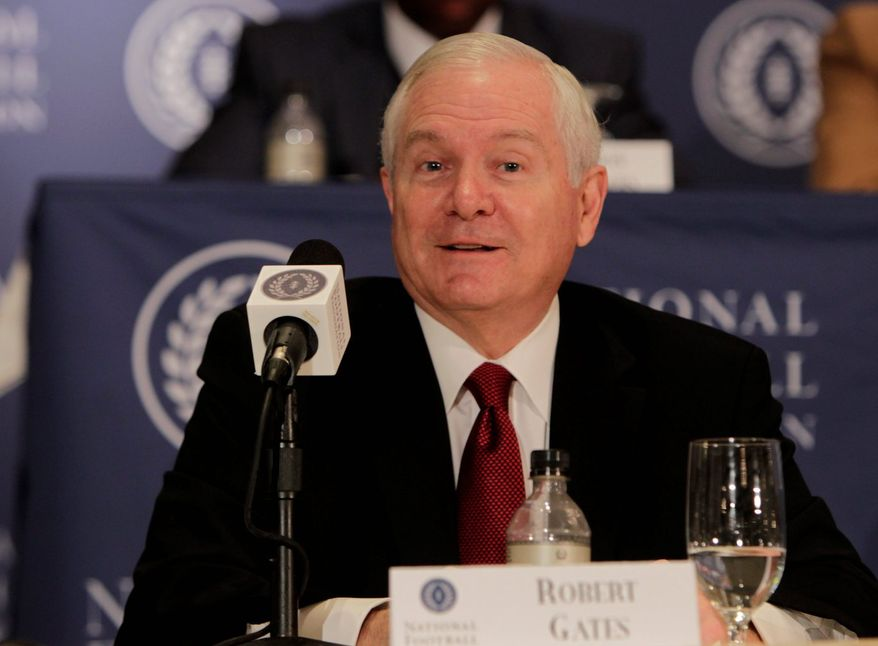 Former U.S. Secretary of Defense Robert M. Gates is second-guessing the president's decision to seek Congress' approval before firing on Syria. (Associated Press)