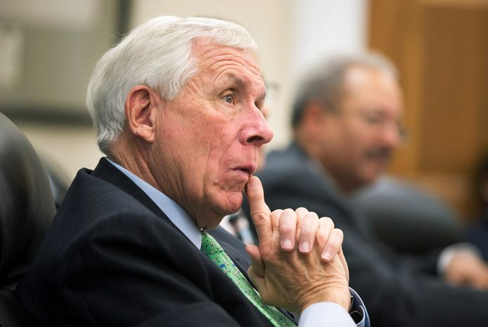 """Rep. Frank R. Wolf, Virginia Republican, said, """"It's troubling. These guys have been with Hillary a long time, and made critical remarks about the [Benghazi] hearings. I'd want to make sure there's a reason why [the committee] didn't pursue it further."""" (associated press)"""