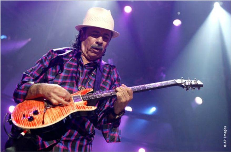 ** FILE ** Carlos Santana. (Associated Press)