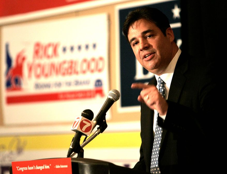 Rep. Raul R. Labrador says his proposed legislation, which has 30 co-sponsors, would ensure that individuals who want to donate to a church that holds to the traditional teaching on marriage would not see their donations challenged by the IRS. (Associated Press)