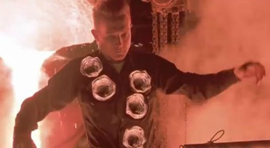 "Robert Patrick stars in 1991's ""Terminator 2"" as the T-1000. (Tri-Star)"