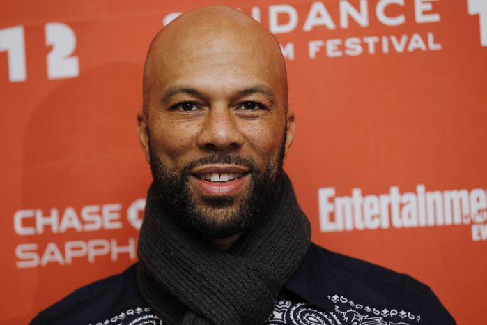 "**FILE** Rapper and actor Common poses at the premiere of ""LUV"" during the 2012 Sundance Film Festival in Park City, Utah, on Jan. 23, 2012. (Associated Press)"