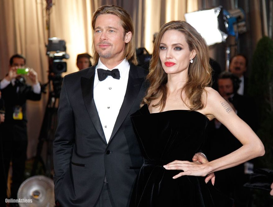 Brangelina in No.3 on the Forbes list. A-list actors Brad Pitt and Angelina Jolie collected $50 million.