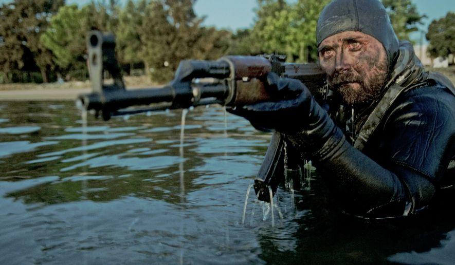 U.S. Navy SEALs in action. (U.S. Navy photo)  ** FILE **
