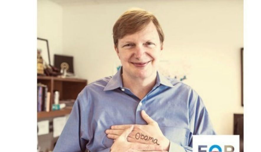 Former Obama campaign manager Jim Messina poses for a picture he tweeted during the 2012 campaign. (Image: Twitter) ** FILE **