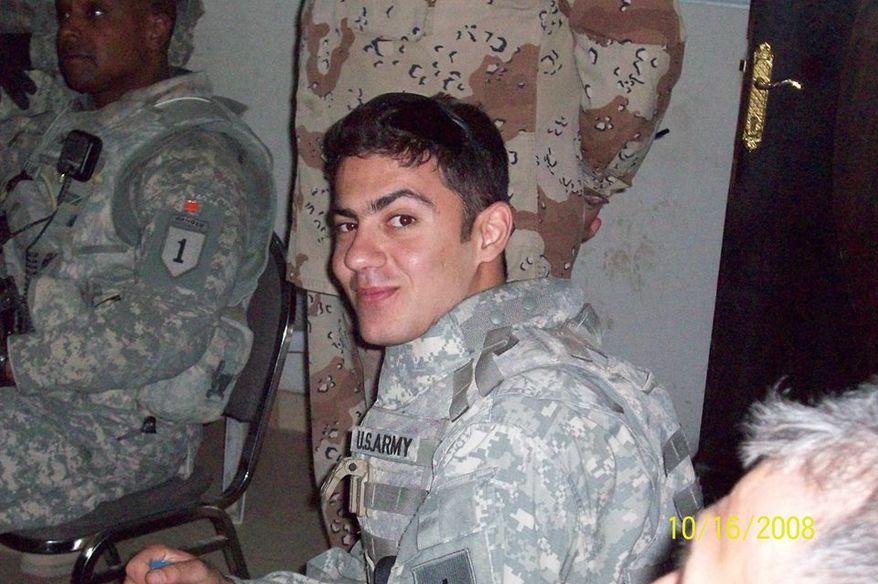 "Ali Nori Nadir, a Sunni Kurdish interpreter, said those who have aided U.S. troops in Iraq are captured and killed under unknown conditions, and the government blames ""insurgents"" or ""al Qaeda."" (Photograph provided by Ali Nori Nadir)"