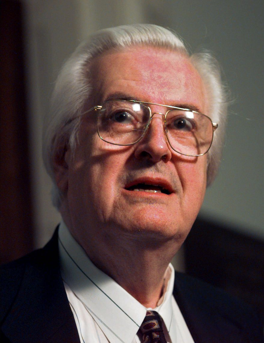 The late Rep. Henry Hyde, Illinois Republican, succeeded in getting an amendment passed that prohibits the use of Medicaid dollars for most abortions. (ASSOCIATED PRESS)