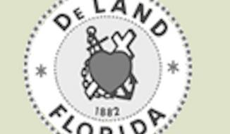 The seal of DeLand, Fla. (www.deland.org)