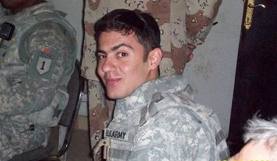 "Ali Nori Nadir, a Sunni Kurdish interpreter, said those who have aided U.S. troops in Iraq are captured and killed under unknown conditions, and the government blames ""insurgents"" or ""al Qaeda."" (Photograph provided by Ali Nori Nadir)"
