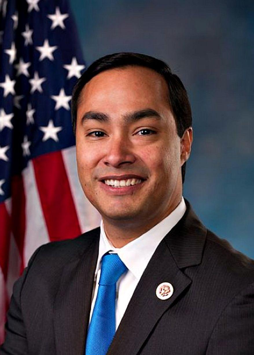 ** FILE ** Rep. Joaquin Castro, Texas Democrat. (Wikipedia)