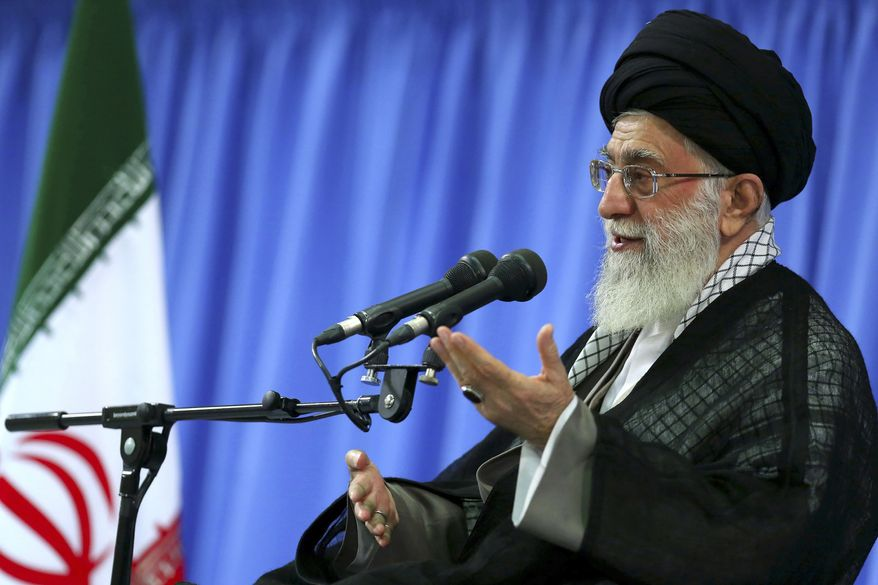 Ayatollah Ali Khamenei is Iran's supreme leader. (AP Photo/Office of the Supreme Leader)