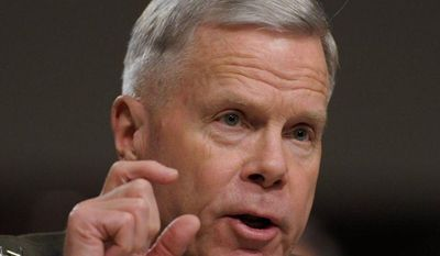 """Gen. James Amos, commandant of the Marine Corps, ordered the general overseeing all desecration cases to """"crush"""" the defendants, who included Capt. James V. Clement. (Associated Press)"""